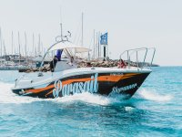 Parasailing boat