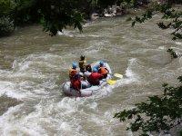 Rafting for groups in Granada