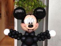 Decoracion Mickey con globos
