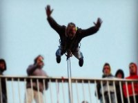 Dare with a bungee jumping