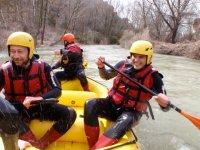 Rafting con guia en Cuenca