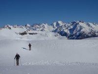 Nieve, raquetas y deporte