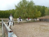 In the riding class