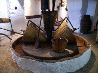 博物馆在贝纳劳里亚Molienda乌夫里克节日的解释中心