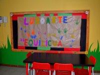 mural hecho por nuestros alumnos