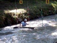 allenamento in canoa
