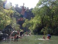 水道里约热内卢颊徒步旅行Penon德阿尔加米塔斯