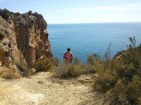 Disfrutando del paisaje
