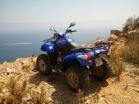 250cc组四边形MorairaQuads在山上