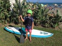 Iniciación al paddle surf para los peques