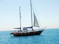 Viajes en velero