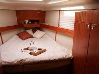 L'intérieur du voilier