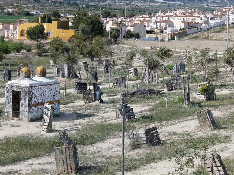 Escenario de paintball en Torrevieja