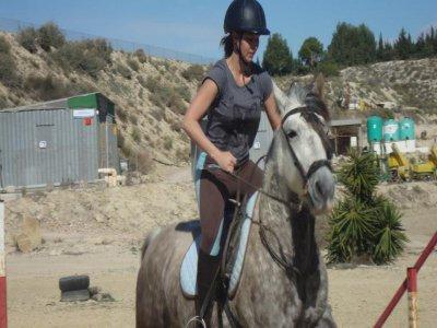 Clase privada de equitación en Torrevieja 1 hora