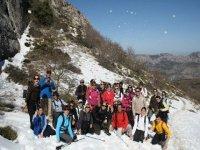 Excursion a la nieve