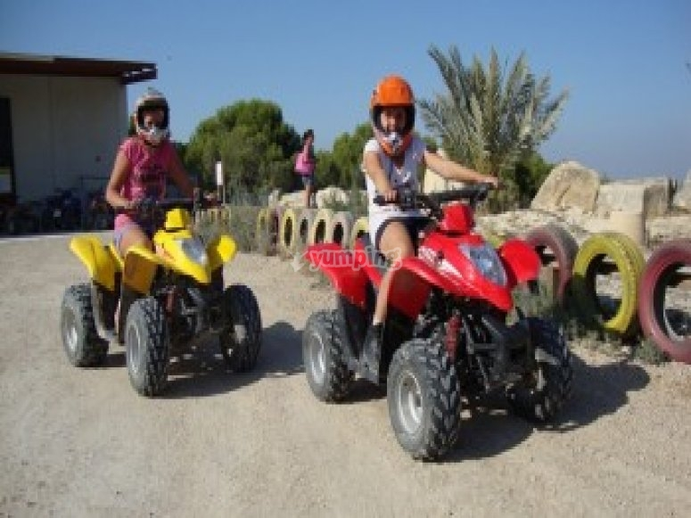 Quad bike route in Torremendo