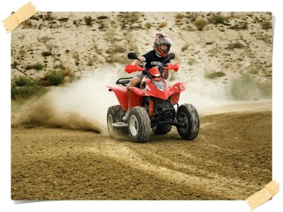 Individual quad bike excursion in Torremendo 1h