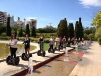 with the segway through valencia