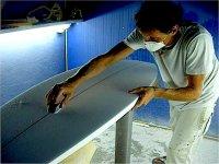 Taller de Reparación de tablas de surf