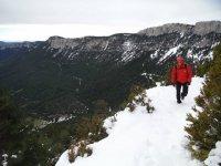 ruta por la nieve