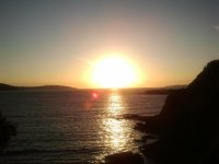 Sunset in the Gulf of Ártabro
