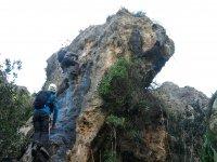 Subida a la gran roca