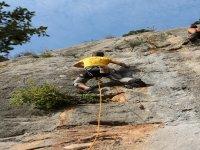 escalando en pirineos