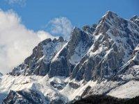 欧洲山峰雪山