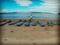 Clases en la orilla