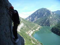 No need to have vertigo in this via ferrata