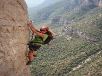 touring the via ferrata