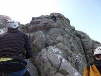 Ayudando a escalar