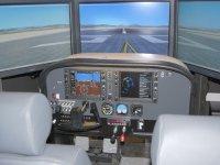 控制面板模拟飞行塞斯纳