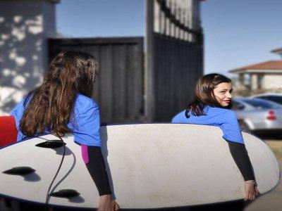Olas Surf School Gijón Campamentos de Surf