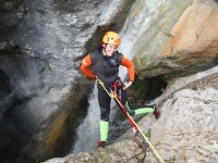 Canyoning and rappelling