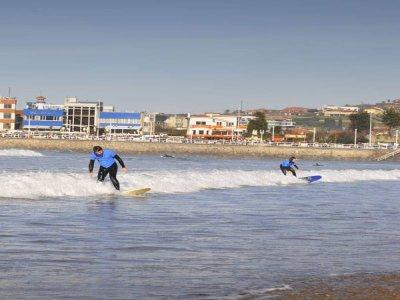 Olas Surf School Gijón