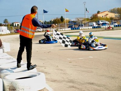 Karting Oliva Team Building
