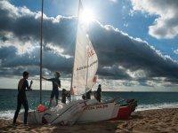 Maneuvers to go sailing