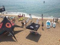 Paddle surf equipment