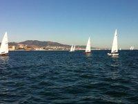 Sailing patis in Badalona