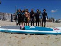 Big sup board in Badalona