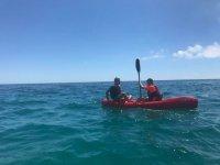 Kayaking in Badalona
