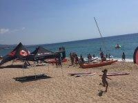 Nautical activities area