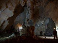 All'interno della grotta del Granduca