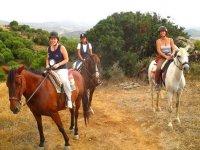 Passeggiate a cavallo attraverso Casares
