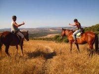 Percorsi a cavallo intorno a Casares