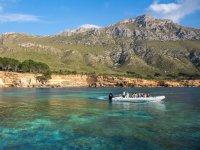 Barco en Es Calo