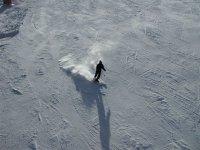 在内华达山脉学习滑雪