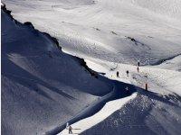 Ski slope in Sierra Nevada