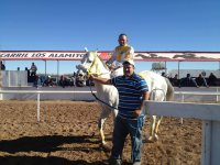Jinete montando a caballo